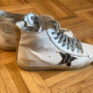 Golden goose high top sneakers